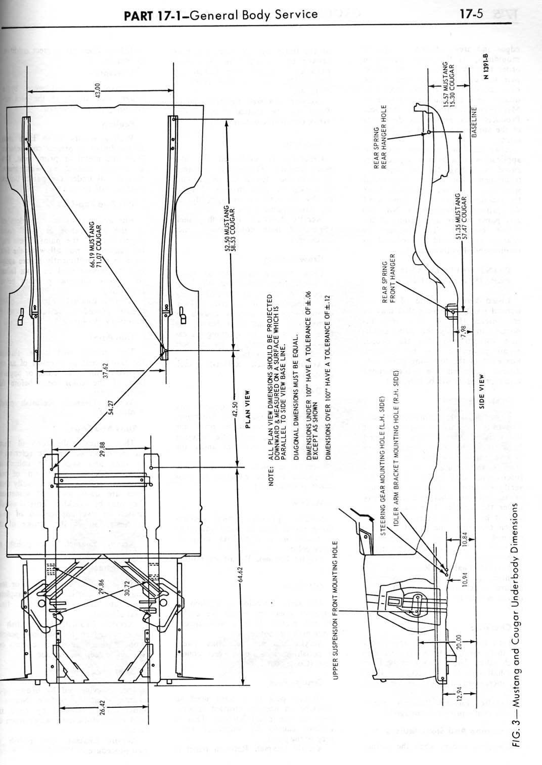 will this help - Mustang Frame