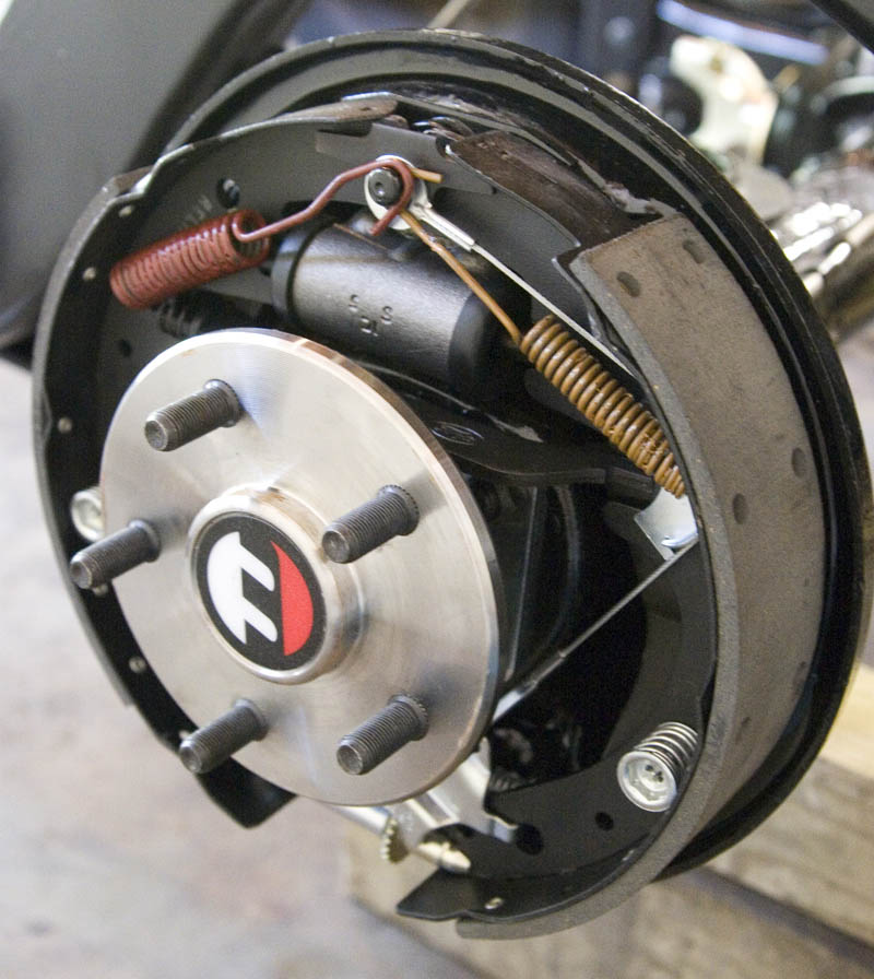 scootrs disc brake fitting instructions